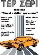 Concert si lansare Tep Zepi la Timisoara