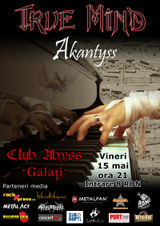Concert True Mind si Akantyss in Galati