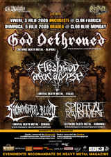 Concert God Dethroned la Fabrica