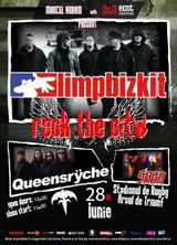 Concert Limp Bizkit si Queensryche la Bucuresti in cadrul Rock The City