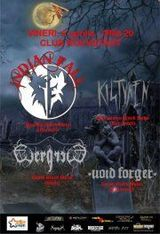 Concert INDIAN FALL, KISTVAEN, VOID FORGER si EVERGREED in Rockstadt
