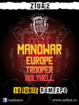 Concert Manowar si Europe la OST Fest 2012