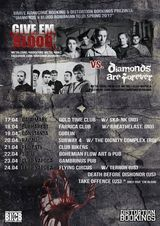 Concert GIVE 'EM BLOOD si DIAMONDS ARE FOREVER in Gambrinus Pub Cluj