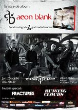 Concert de lansare AEON BLANK in Club Wings