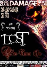 Concert L.O.S.T., KA GAIA AN si AN THEOS in Damage club