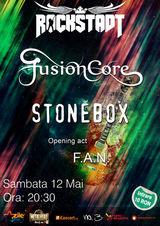 Concert FUSIONCORE, STONEBOX si F.A.N. in Rockstadt Brasov