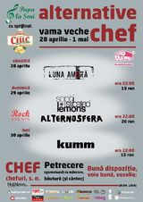 Alternative Chef cu Luna Amara, Sophisticated Lemons, Alternosfera si Kumm
