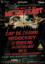Festival metal in club Fabrica din Bucuresti
