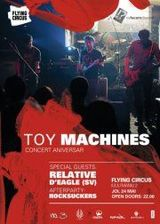 Concert Toy Machines in Flying Circus Pub din Cluj-Napoca