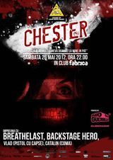 Concert de lansare album Chester in club Fabrica din Bucuresti