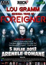 Concert Lou Gramm (Foreigner) la Arenele Romane din Bucuresti