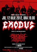Concert Exodus si Suicidal Angels in Timisoara
