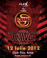 Concert Scarred si Taine in club Flex din Arad