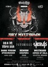 July Meltdown Festival in Private Hell Club din Bucuresti
