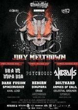 July Meltdown Festival in Private Hell Club din Bucuresti
