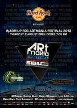 Warm-up ARTmania 2012: Concert Monarchy la Hard Rock Cafe Bucuresti