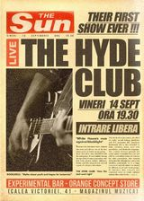 The Hyde Club - primul concert