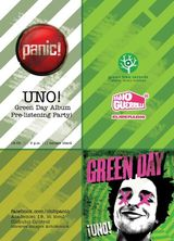 Pre-listening Green Day Party pentru albumul 'Uno!' in club Panic Bucuresti
