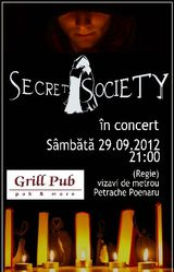 Secret Society: Concert la Bucuresti