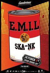 E.M.I.L. si Ska-nk: concert in Gambrinus Pub din Cluj-Napoca