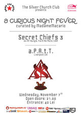 Secret Chiefs 3, aPAtT : Concert la Bucuresti