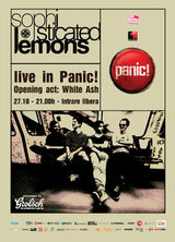 White Ash si Sophisticated Lemons: Concert in Panic Club Bucuresti