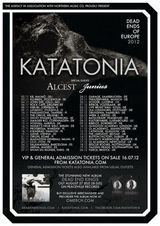 Katatonia, Alcest si Junius: Concert in Munchen