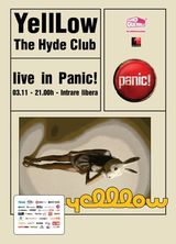 The Hyde Club si Yelllow: Concert in Panic! Club