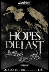 Hopes Die Last, Fall Against Fate si Scars Of A Story: Concert la Cluj-Napoca