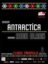Concert Antarctica si Aeon Blank pe 30 noiembrie la Bucuresti