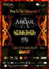 Concert Abigail, Hteththemeth si Aspru la Brasov