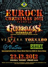 Festival Eurock Christmas 2012, la Targu Mures pe 22 decembrie