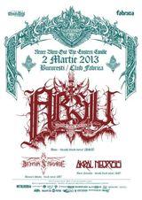 Absu: Concert in Bucuresti in Club Fabrica pe 2 martie 2013