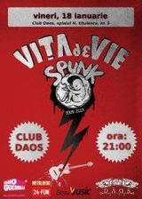 Vita de Vie Spunk Tour 2013: concert in Timisoara in club Daos