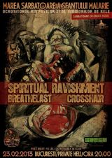 Concert Spiritual Ravishment si Breathelast in Private Hell din Bucuresti