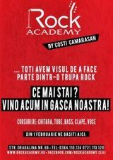 Rock Academy in Cluj-Napoca pe 1 februarie