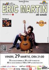 Eric Martin, vocea Mr. Big: Concert la Hard Rock Cafe Bucuresti pe 29 martie