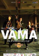 Vama: Concert la Hard Rock Cafe Bucuresti pe 4 aprilie