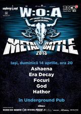W:O:A Metal Battle 2013: Semifinala la Iasi