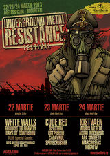 Underground Metal Resistance 2013 la Club Ageless din Bucuresti