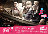 Concert acustic Toulouse Lautrec la Radio Guerrilla