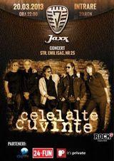 Concert Celelalte Cuvinte la Cluj-Napoca