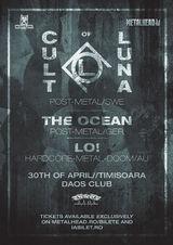 CULT OF LUNA, THE OCEAN, LO!: Concert la Timisoara