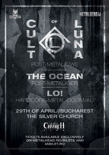 CULT OF LUNA, THE OCEAN, LO! : Concert la Bucuresti