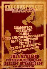 Concert caritabil pentru Chi Cheng (Deftones) in aprilie la Bucuresti