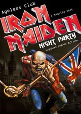 Petrecere Iron Maiden in Ageless Club din Bucuresti
