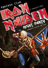 Petrecere Iron Maiden in Ageless Club din Bucuresti
