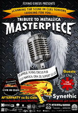 Concert Masterpiece in Flying Circus pe 19 aprilie