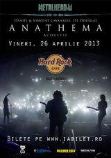 Concert ANATHEMA acustic in aprilie la Bucuresti