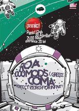 Concert Coma si 1000mods pe 19 aprilie la Bucuresti